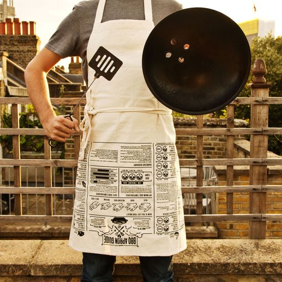 BBQ Apron with Cooking Guides 2