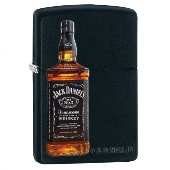 Black Jack Daniels Bottle Lighter