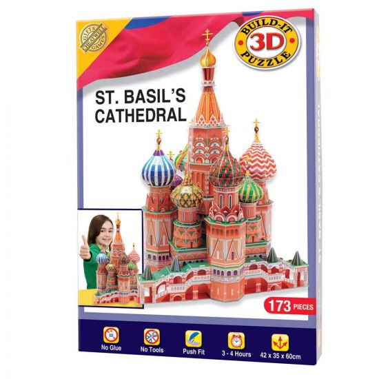 Build Your Own 3D St Basil's Cathedral Kit