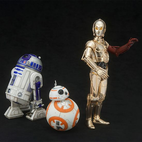 C3P0, R2D2 and BB8 3 Pack 1