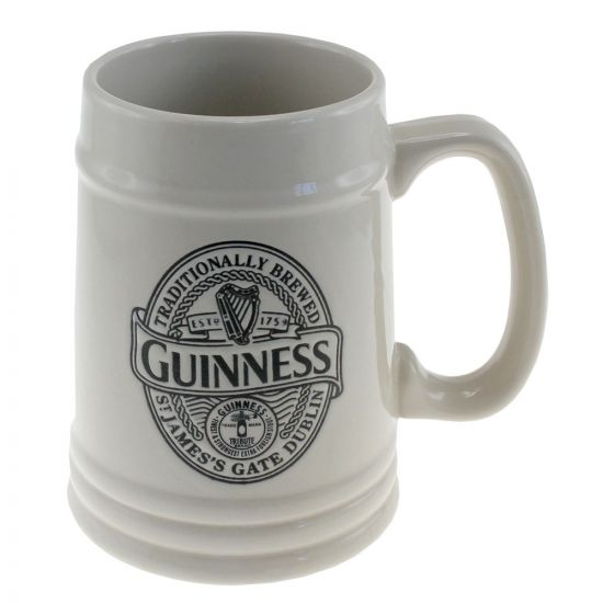 Collector's Ceramic Embossed Tankard 2014