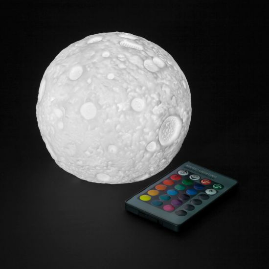 LED Colour Changing Moon Lamp