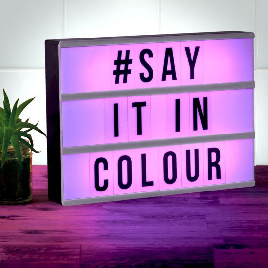 A4 Colour Changing Message Board 1