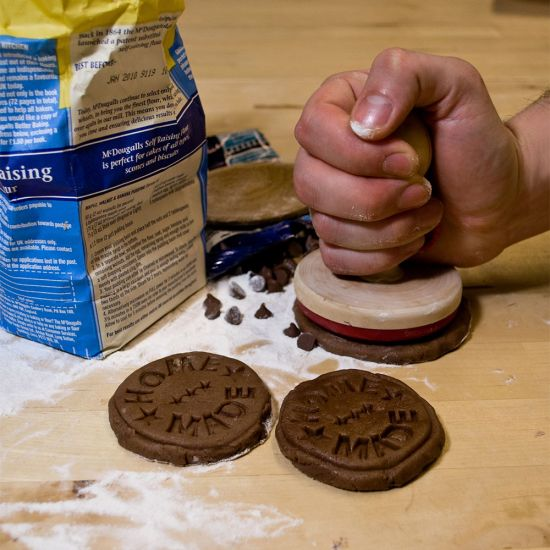 Home Made Cookie Stamper