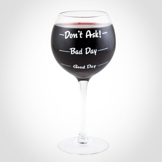 How Was Your Day Wine Glass 1