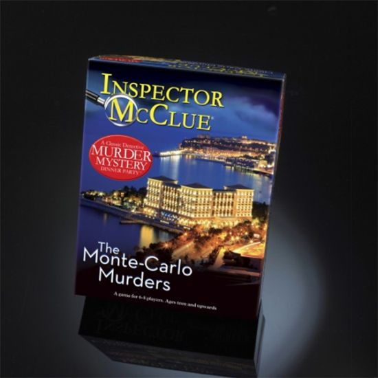 Inspector McClue - The Monte Carlo Murders Mystery Dinner Party Game