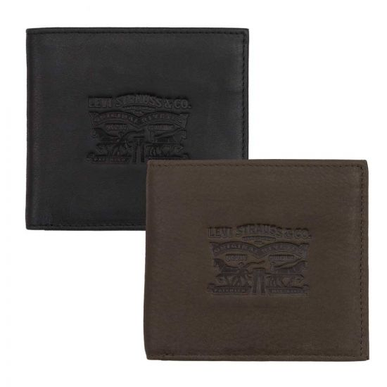 Levi Clairview Bifold Leather Wallet
