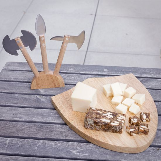 Medieval Cheese Board Set 1