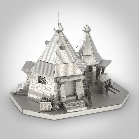 Harry Potter Hagrid's Hut Metal Earth Model 1