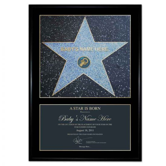 Personalised A Star is Born