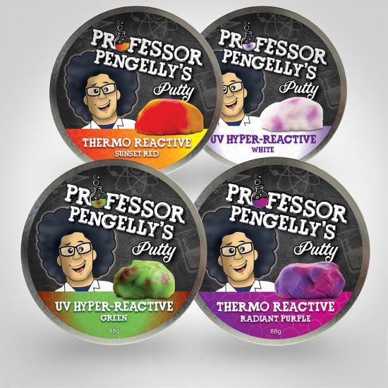Professor Pengelly's Colour Changing Putty 1
