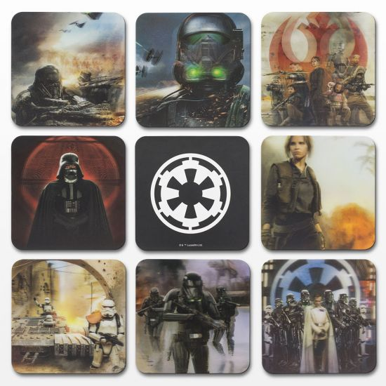 Star Wars 3D Rogue One Coasters 1