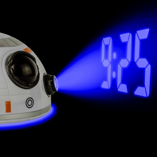 Star Wars BB8 Projection Dome Clock 1