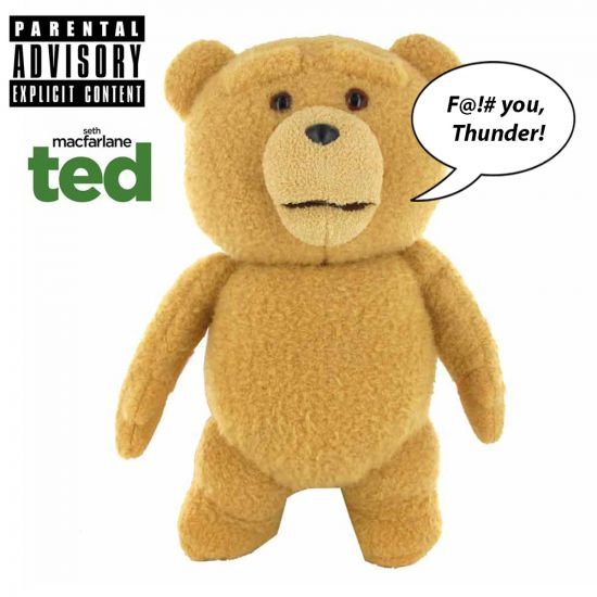 """Ted 16"""" Talking Plush Toy (X-Rated)"""