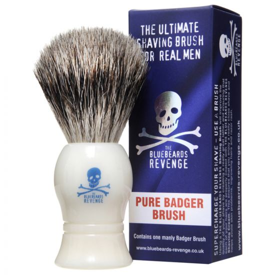 Badger Shave Brush White