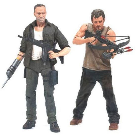 The Walking Dead Dixon Brothers Action Figures