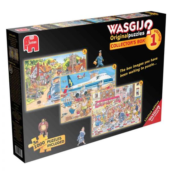 Pack of 3 Wasgij Puzzles