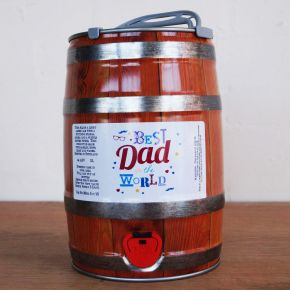 'Best Dad In The World' Beer Keg