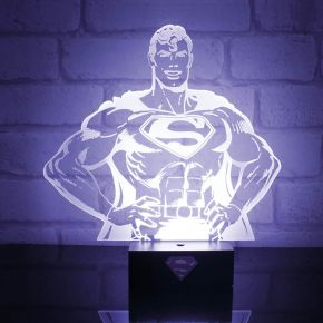 DC Superman Hero Light