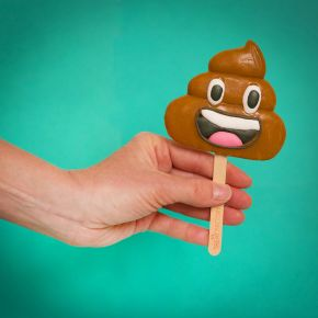 Emoticon Poo Lolly