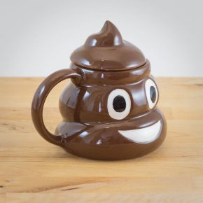 Emoticon Poo Mug