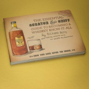Essential Scratch and Sniff Guide to Whiskey Book