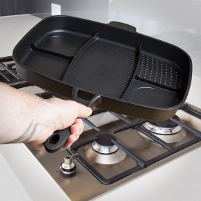Lazy Man Frying Pan