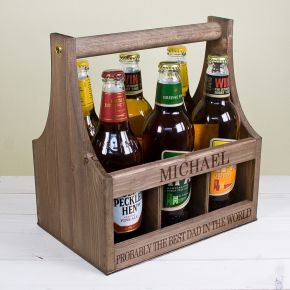 Personalised Garden Beer Trug