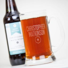 Personalised Trio of Beer with Tankard