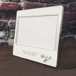 Personalised Soccer Photo Frame