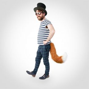 Telltails Wearable Fox Tail