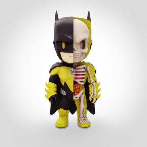 Yellow Lantern Batman Anatomy Figure