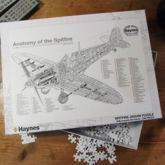 Haynes Spitfire Jigsaw Puzzle