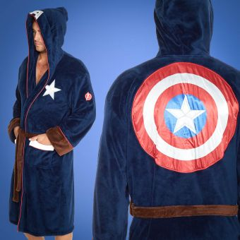 Captain America Bathrobe