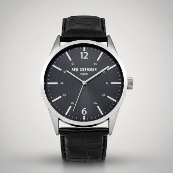Ben Sherman London Watch Grey/Black WB060BB