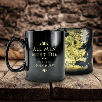 Game Of Thrones Westeros Map Heat Change Mug