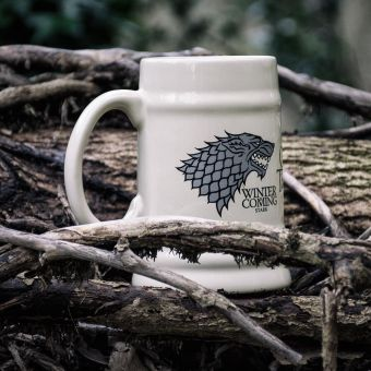 House Stark Game of Thrones Stein