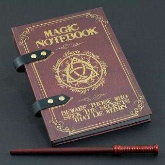Magic Notebook and Pencil