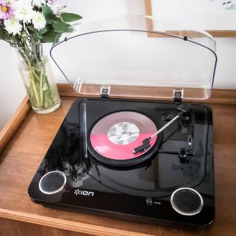 Max LP Wood Record Player