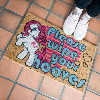 Retro My Little Pony Door Mat