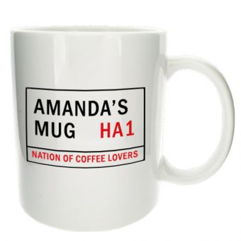 Personalised Street Sign Mug