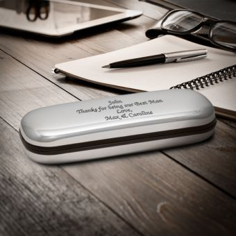 Engraved Glasses Case