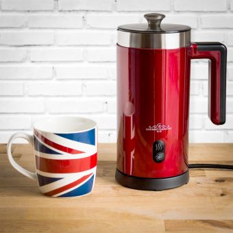 Retro Diner Milk Frother and Hot Chocolate Maker