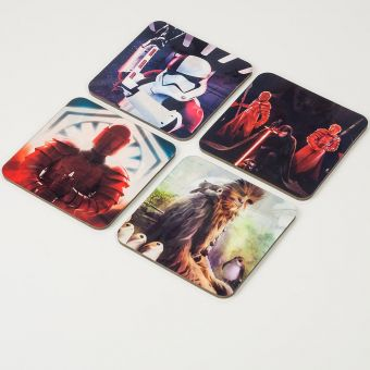 Star Wars The Last Jedi Lenticular Coasters