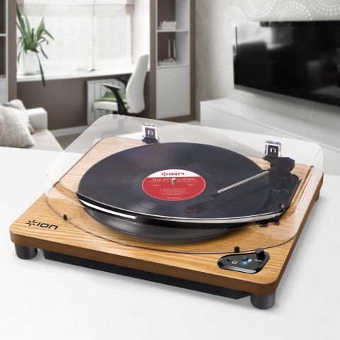 Air LP Bluetooth Wood Record Player