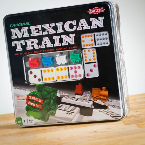 Mexican Train In A Tin