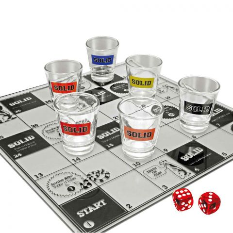 Snakes and Bladdered Drinking Game
