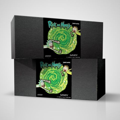 Rick and Morty Swag Boxes