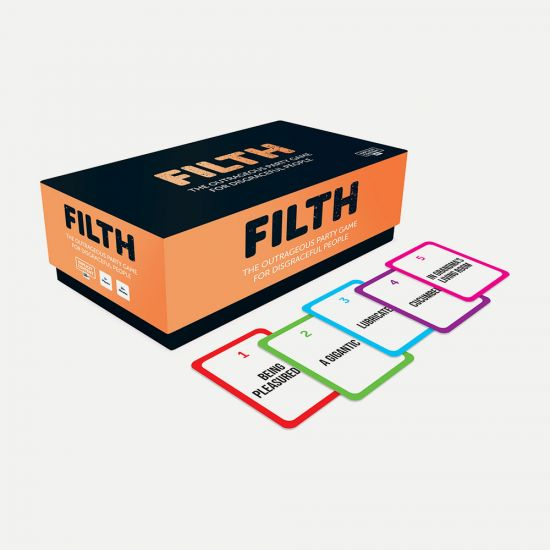 Filth party game