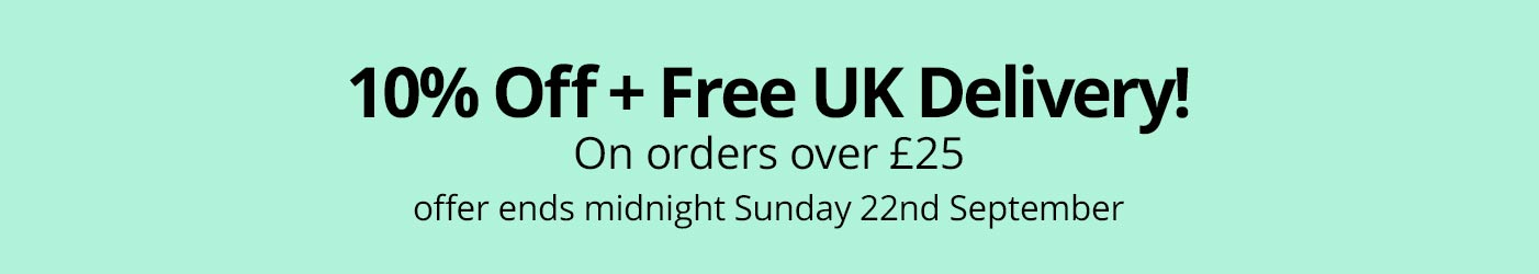 Free delivery over £10